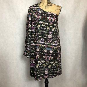 Nordstrom's Chelsea28 One Shoulder Floral Dress-M